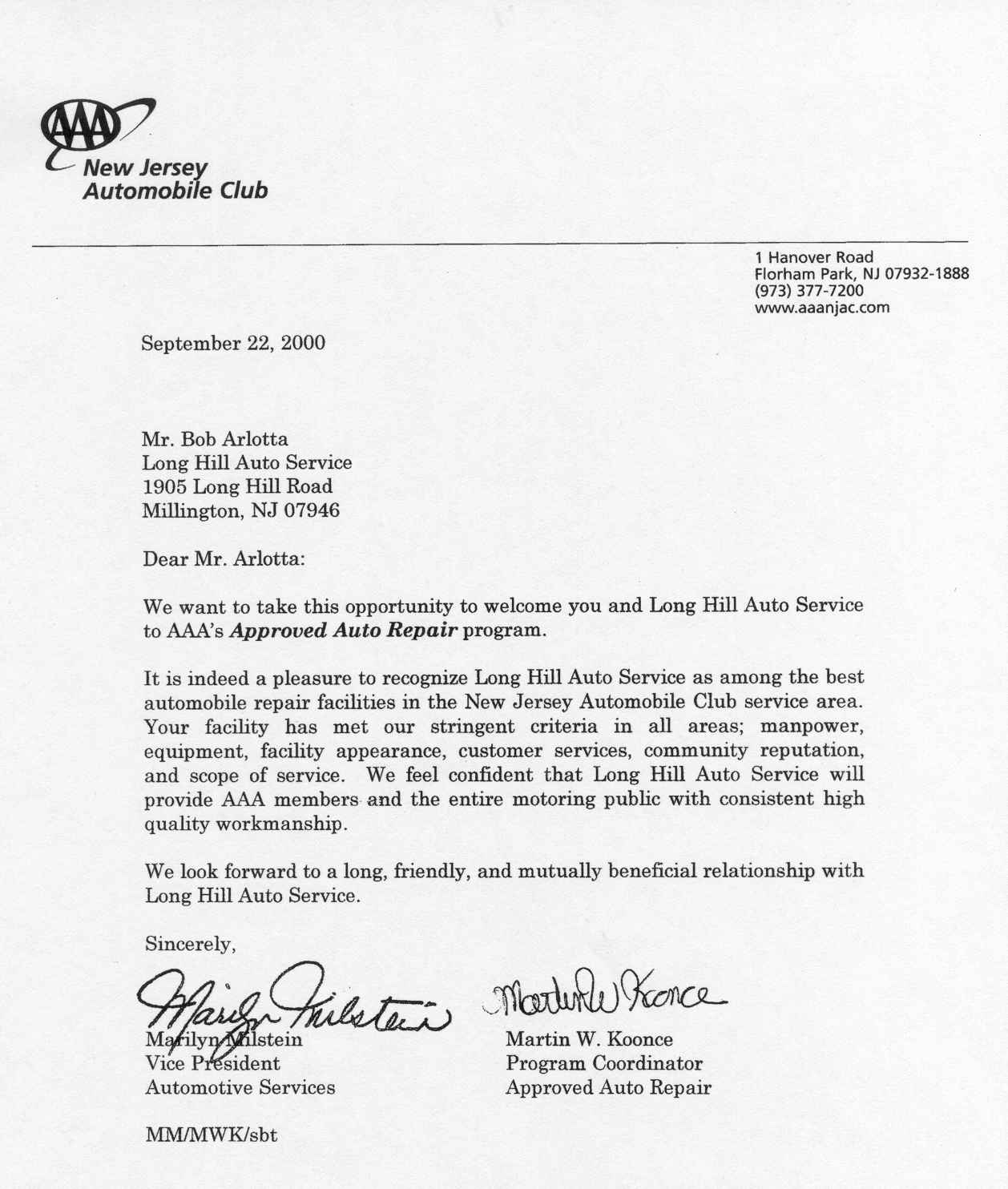 letters of appreciation view letter